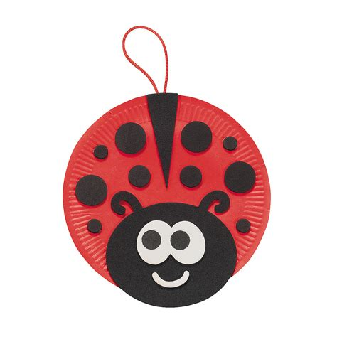 ladybug crafts for paper plate ladybug craft kit trading