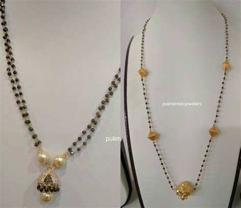 small black jewellery designs mangalsutra jewelry designs jewellery designs