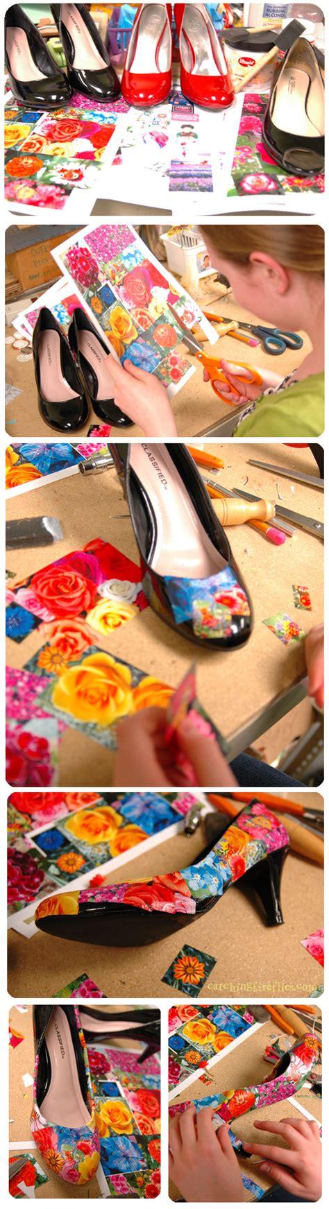 how to decoupage shoes how to decoupage shoes creative gift ideas news at