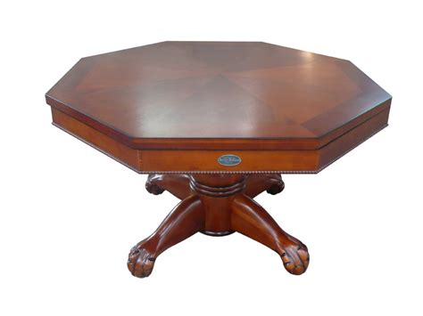 octagon bumper pool table octagon 48 quot 3 in 1 slate bumper pool table antique walnut