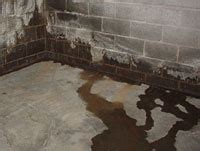 water leak in basement wall how basements leak where the water enters finding the
