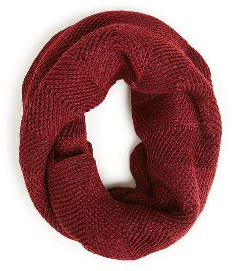 burgundy knit scarf burgundy knit scarf dailylook knit scalloped