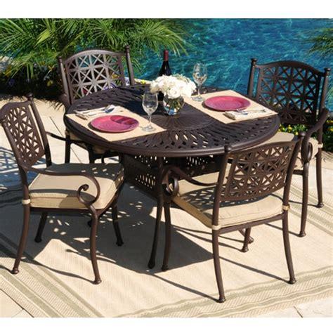 solid cast aluminum patio furniture all weather cast aluminum outdoor furniture