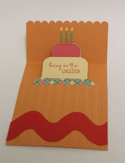 pop up card tutorial birthday cake pop up card tutorial confessions of