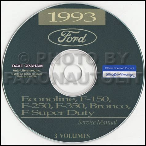 car repair manual download 1993 ford econoline e350 electronic toll collection 1993 ford e350 owners manual