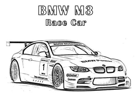 m and m coloring pages pages download bmw m3 race