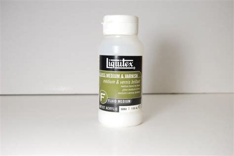 acrylic paint thinning for airbrush liquitex gloss medium and sealer is used for thinning