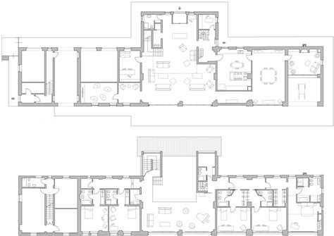 Design Line Kitchens ground amp first floor plans rustic farmhouse in rosignano
