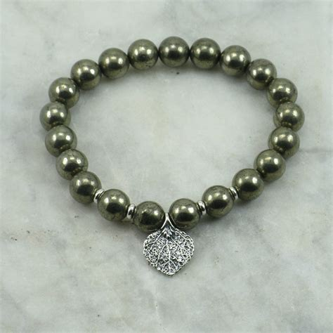 mala bead bracelet warrior mala bracelet 21 pyrite mala bracelet