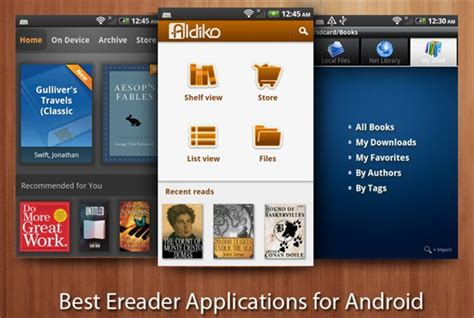 best reader app top apps for reading ebooks on android devices