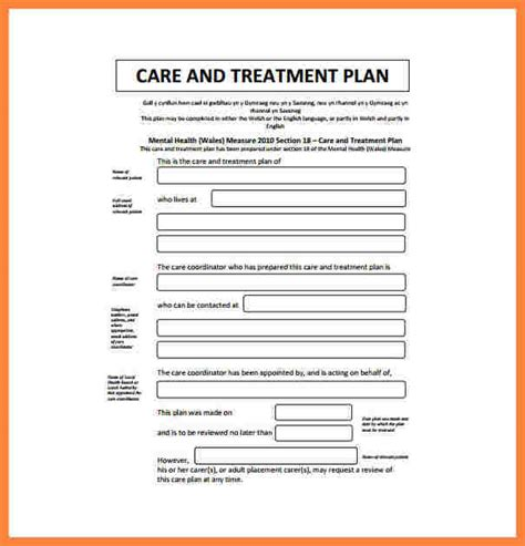 5 counseling treatment plan template bussines proposal 2017