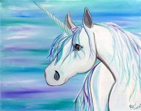 paint nite unicorn unicorn squad saturday march 4 2017