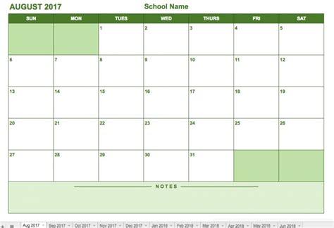 monthly schedule template workout calendar templates 10