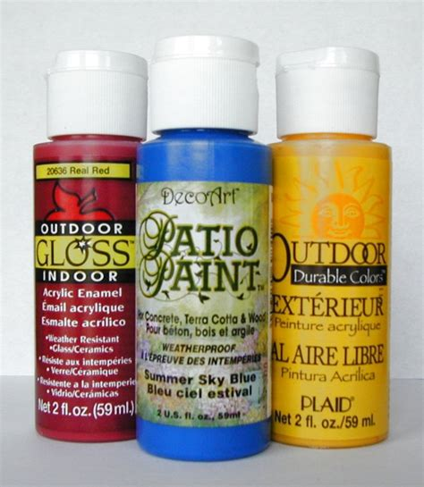 acrylic paint for acrylic stencil paint for interior and exterior use