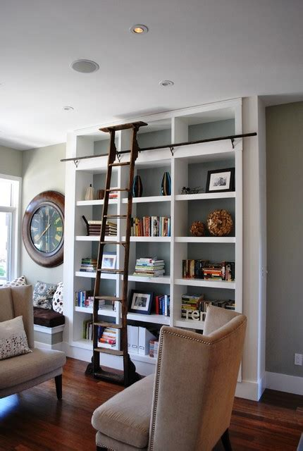 living room library home library
