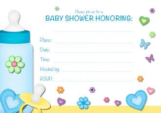 how to make baby shower invitation cards free printable baby boy shower invitation templates