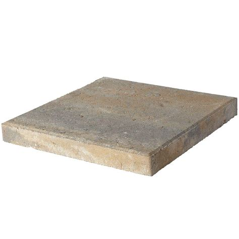 16x16 patio pavers home depot pavestone 16 in x 16 in yukon concrete step 72650