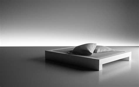 Modern Interior Designer bett somnium minimalistisches design bett von rechteck