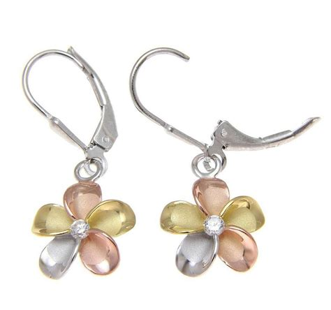silver jewelry classes 925 sterling silver plumeria flower jewelry earrings and gifts