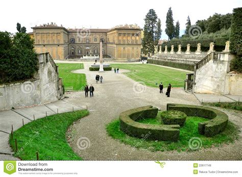 Tudor Home Plans boboli gardens in florence italy editorial stock image