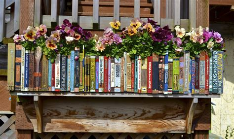 flower picture book reading on reading book and book flowers