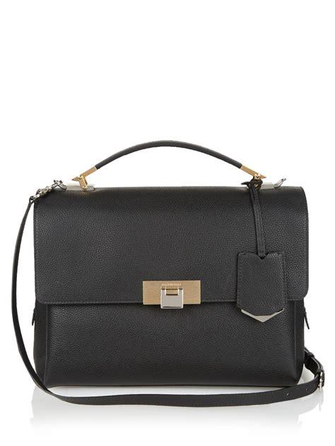 black leather the shoulder bag balenciaga le dix classic soft leather shoulder bag in black lyst