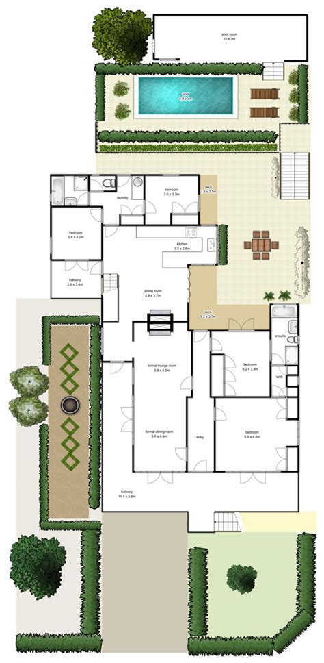 real floor plans brisbane real estate floorplans highshots