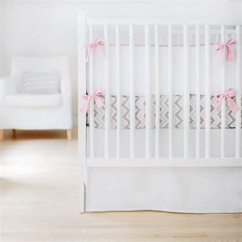 white crib bedding set sweet and simple crib bedding set in white by new arrivals