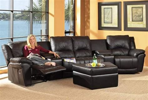 home theatre sectional sofa coaster sofas and sectionals 7575 7576 promenade home