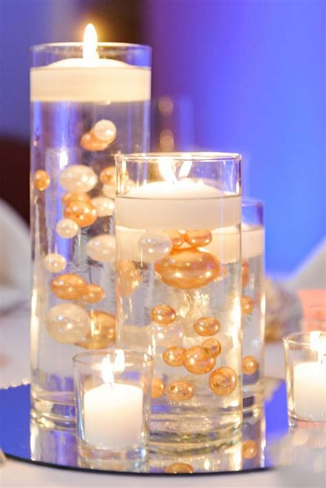 candle in water centerpiece 25 best ideas about flowerless centerpieces on