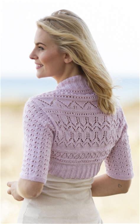 shrug knitting pattern free shrug knitting pattern lovely pattern for