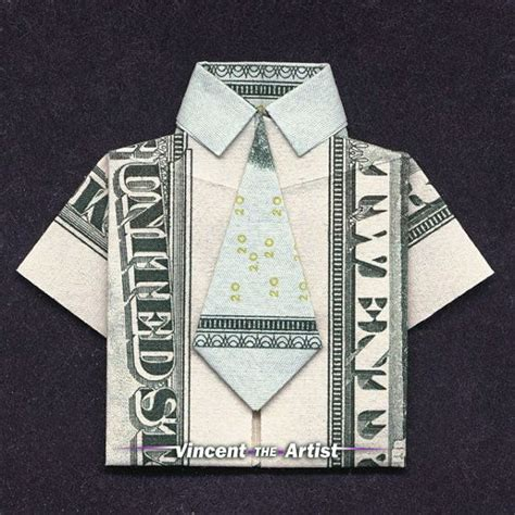 money origami shirt money origami shirt made with 20 bill money dollar