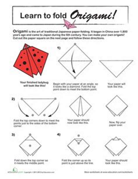 how to make a origami ladybug 1000 images about origami on origami cat