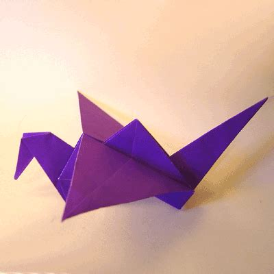 how to make an origami crane that flaps its wings origami flapping bird