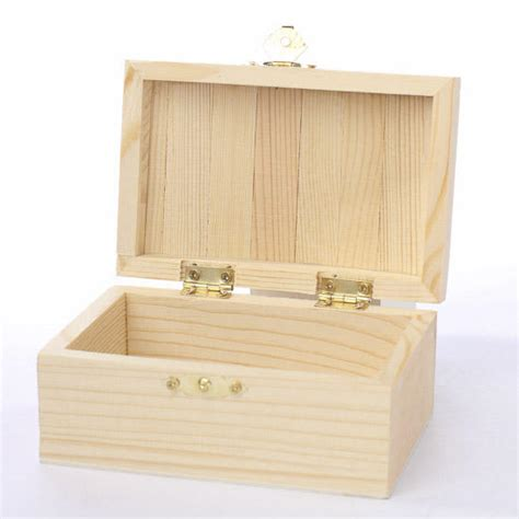 unfinished wood unfinished wooden chest keepsake box baskets buckets