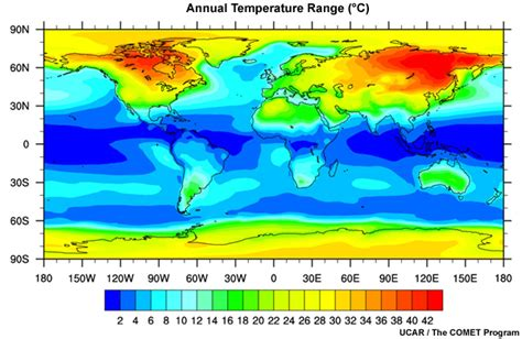 introduction to tropical meteorology ch 1 introduction 1 6 temperature ป 1 6 1 seasonal and