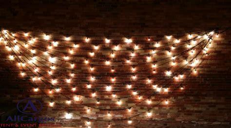 wall string lights allcargos tent event rentals inc gladstone hotel venue