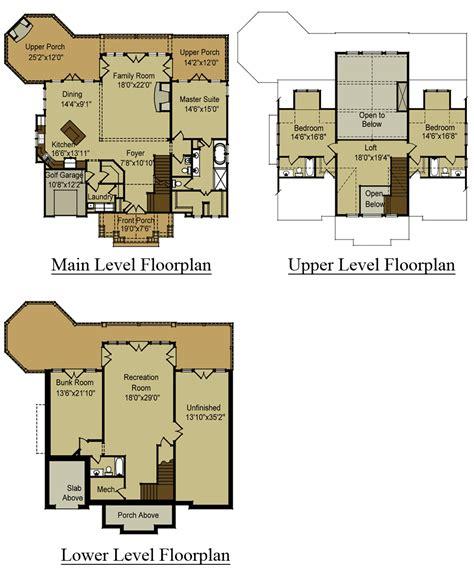 plans for a house 3 story open mountain house floor plan asheville mountain house