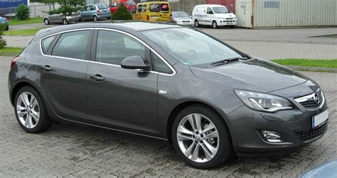 Opel Astra J by File Opel Astra J Front 20100808 Jpg