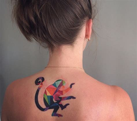 21 watercolor animal tattoos even your parents would