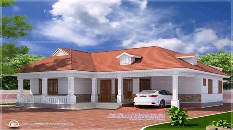 single floor house plans kerala style 4 bedroom house plans single floor