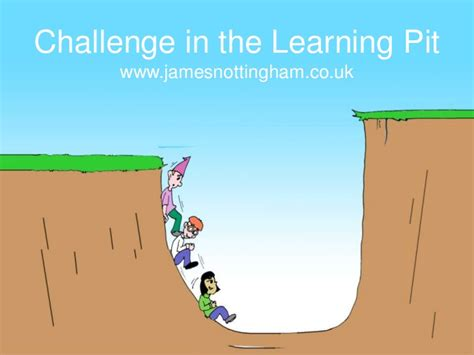 in the in the learning pit