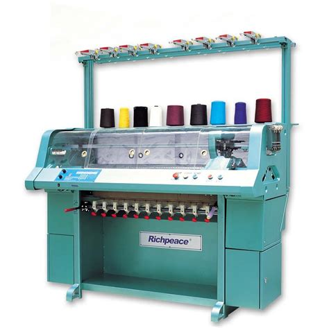 knitting machines automatic flat knitting machine for collar bottom by