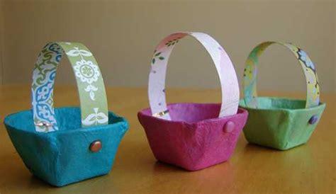 easter basket crafts for 14 simple easter basket designs adding creative