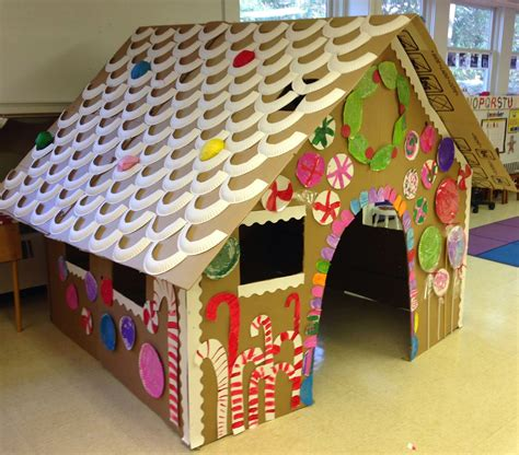 house craft ideas for mrs goff s pre k tales our size gingerbread house