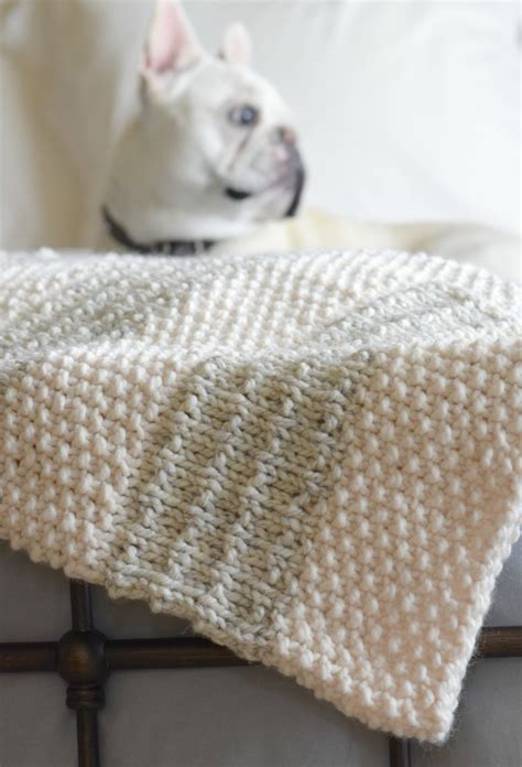 easy blanket knitting patterns easy heirloom knit blanket pattern in a stitch