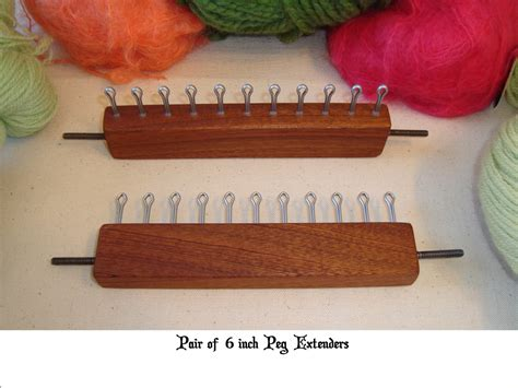 18 peg knitting loom 18 knitting board loom optional peg by cottagelooms