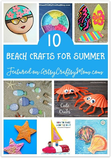 printable summer crafts for the ultimate list of 100 summer activities for