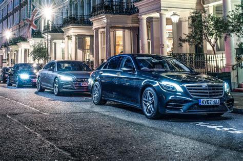 Mercedes Vs Mercedes by Mercedes S Class Vs Audi A8 Vs Bmw 7 Series 2018