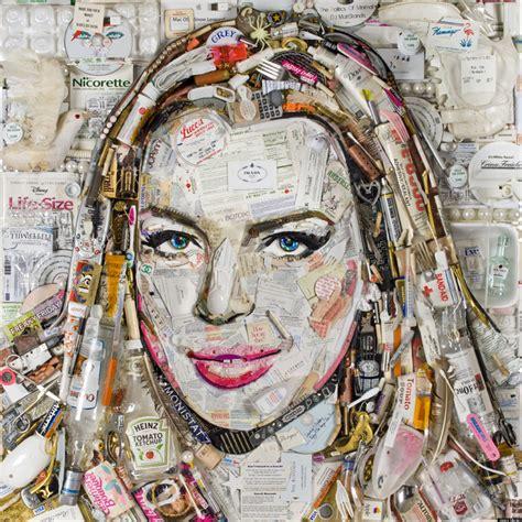pictures made out of jason mecier mosaic artist creates portrait of